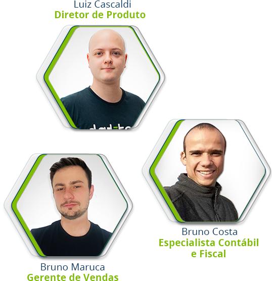Participantes do Webinar Dattos
