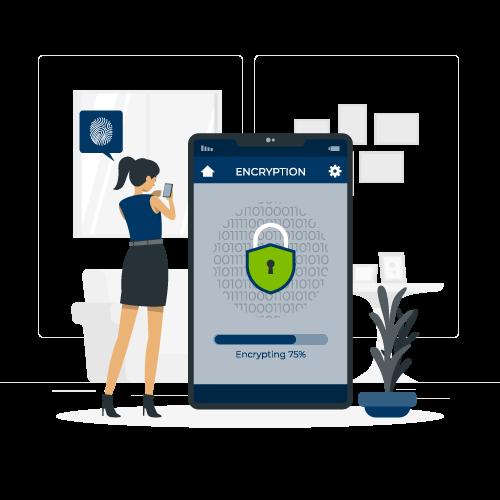 mobile encryption rafiki